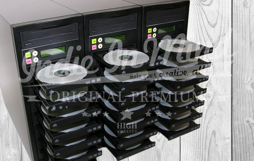Indie In Mind - duplikasi cd