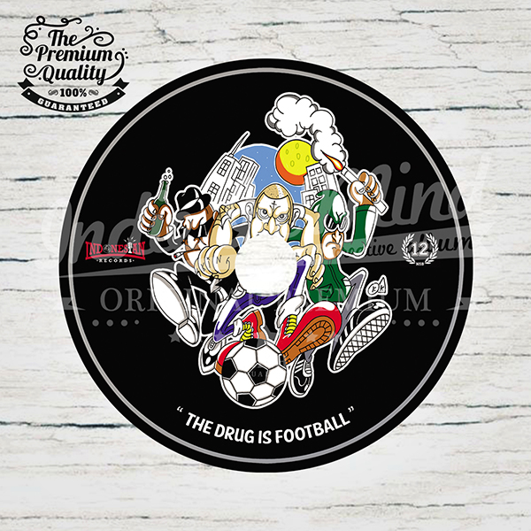 INDONESIAN RECORDS - THE DRUG IS FOOTBALL